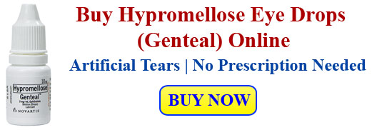 Hypromellose Eye Drops | Genteal Eye Drops | Artificial Tears Eye Drops